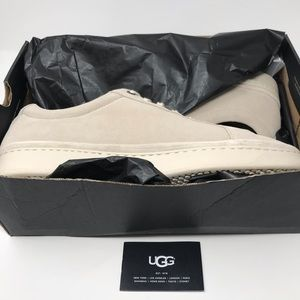 UGG Men's Cali Low Suede Sneakers 13 White $150